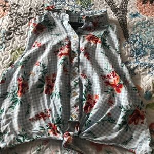 I'm selling a button up blouse